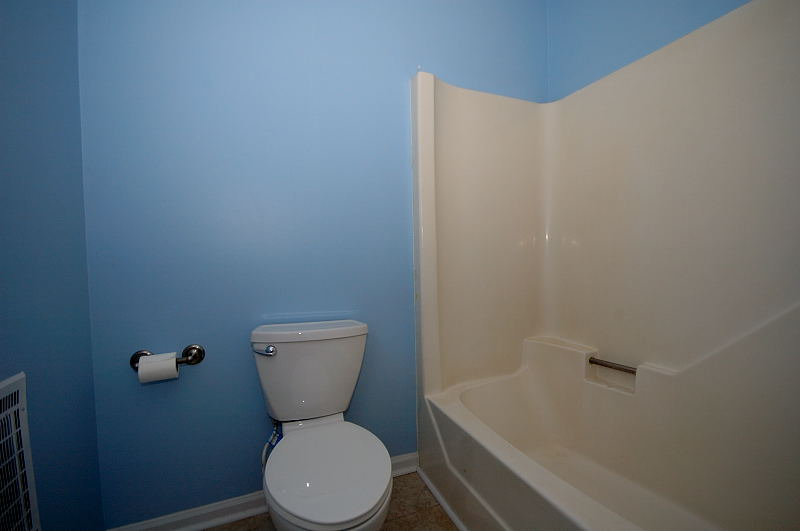 Goldsboro NC - Homes for Rent - Hall Bathroom - 107 Sparrow Court Pikeville NC 27863