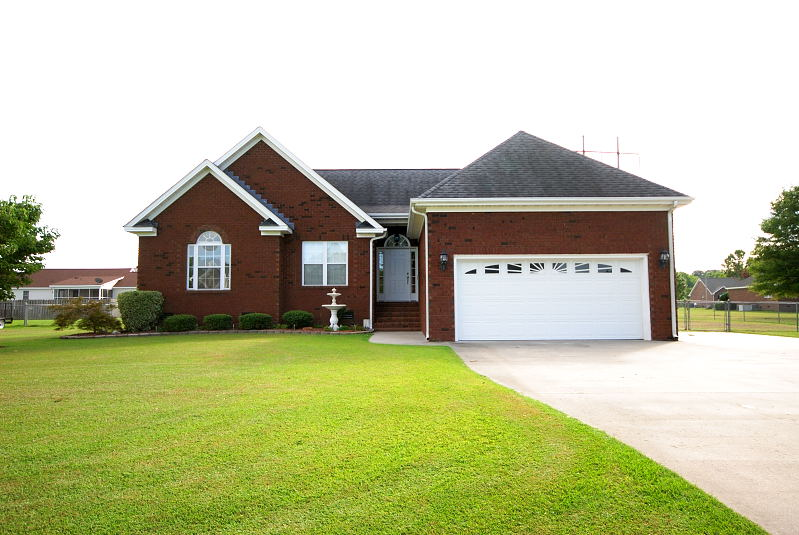 Goldsboro NC - Homes for Rent - 203 Summer Wind Drive Goldsboro NC 27530 - Main House View