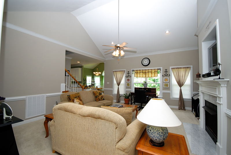 Goldsboro NC - Homes for Rent - Family Room - 2201 Granville Drive Goldsboro NC 27530
