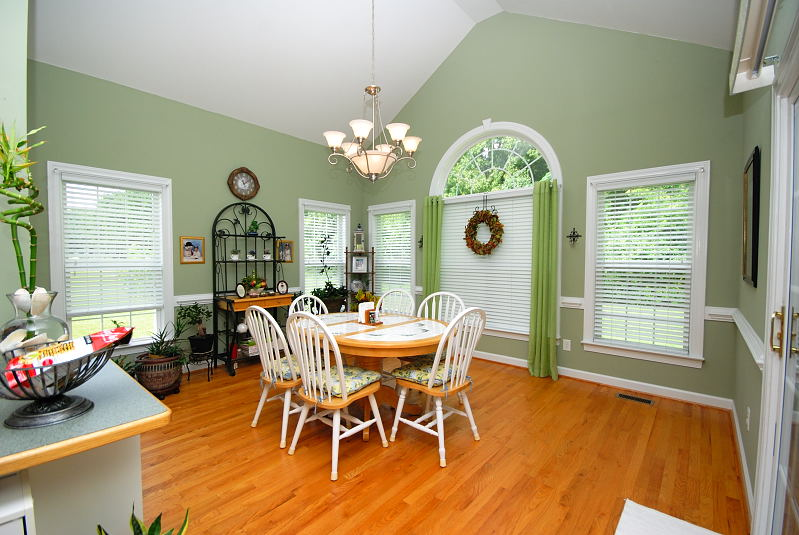 Goldsboro NC - Homes for Rent - Dining Area - 2201 Granville Drive Goldsboro NC 27530