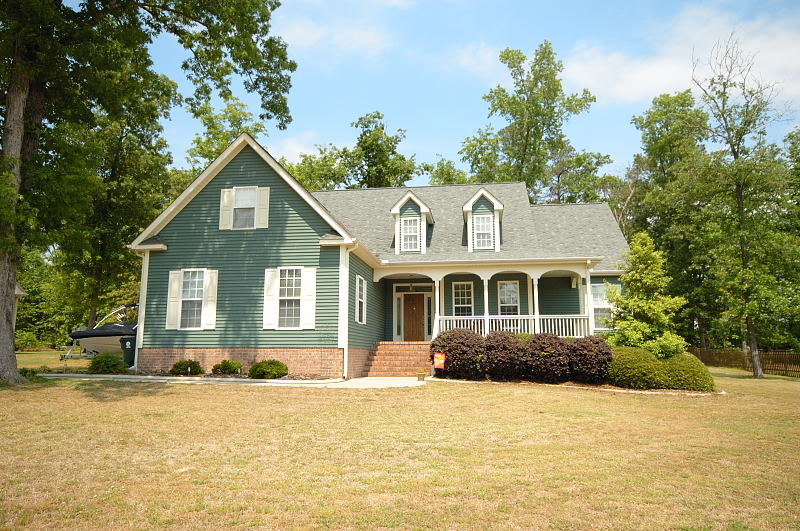 Goldsboro NC - Homes for Rent - House Front - 416 Morgan Trace Ln. Goldsboro, NC 27530