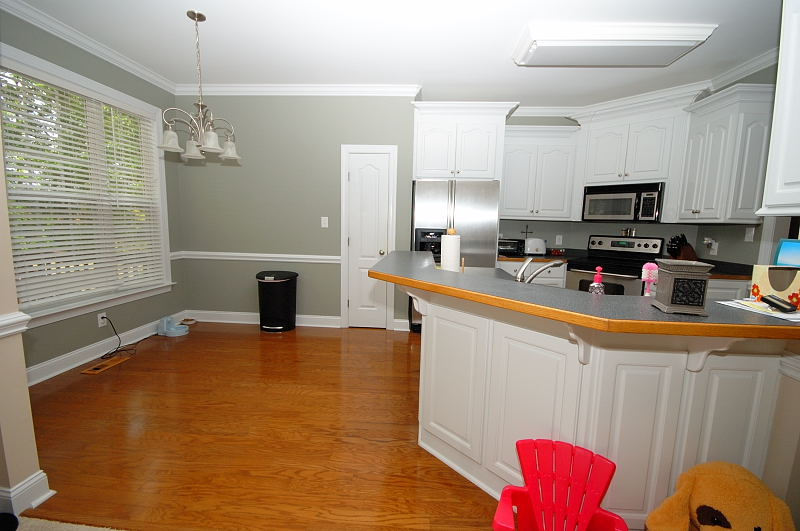 Goldsboro NC - Homes for Rent - Kitchen 2 - 416 Morgan Trace Ln. Goldsboro, NC 27530